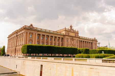 palace in Stockholm, Sweden