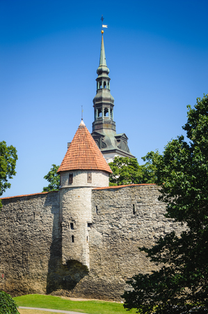 Old town of Tallinn, Estonia 写真素材