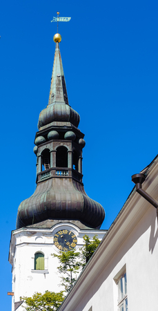 Historic centre of Tallinn old city Stock Photo