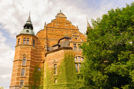 The Nordic Museum (Nordiska museet), a museum located on Djurgarden, an island in central Stockholm, Sweden, dedicated to the cultural history and ethnography of Sweden from the Early Modern age