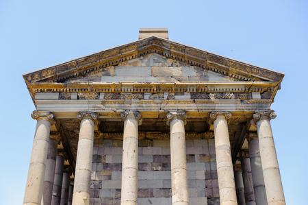 Garni temple, Hellenistic temple from the first century in Garni, Armenia