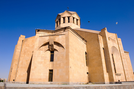 Saint Gregory the Illuminator Cathedral, Yerevan. It was completed in 2001