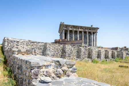 Garni temple, Hellenistic temple from the first century in Garni, Armenia