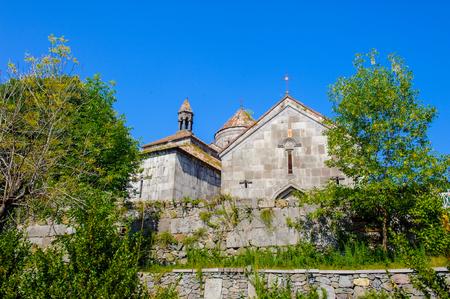Haghpatavank (Haghpat Monastery), a medieval Armenian monastery complex in Haghpat, Armenia. Stock Photo