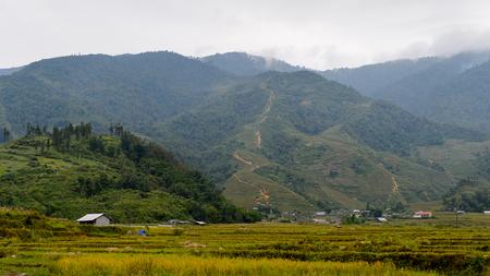 Village Ta Phin in Northern Vietnam Stock Photo