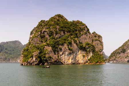 Nature and rocks of the Halong Bay, Indochina sea, Vietnam.