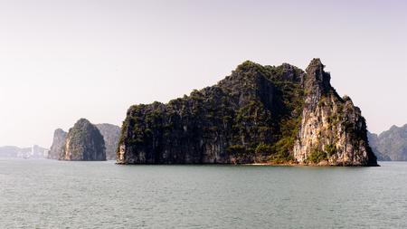 Ha Long bay rocks.