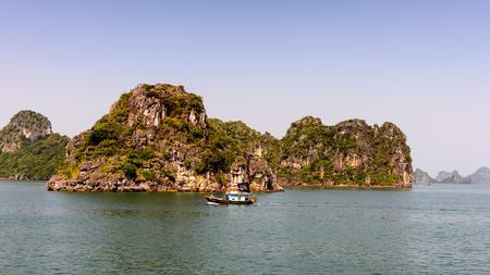 Halong bay, Vietnam. UNESCO World Heritage