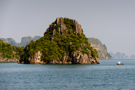 Halong rocks in Vietnam.