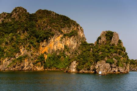 Halong rocks in VIetnam.