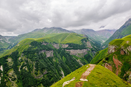 Nature of the Caucasus mountains Stock Photo