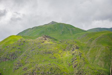 Beautiful mountains in Georgia