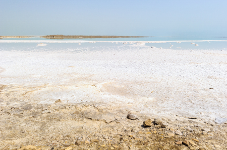 Dead Sea, also called the Salt Sea, is a salt lake bordering Jordan to the east and Israel and Palestine to the west.