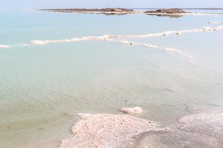 Dead sea salty water Imagens - 91985204