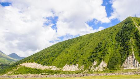 Nature and moiuntains of Georgia Stock Photo
