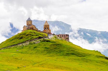 Orthodox monastery on the rock