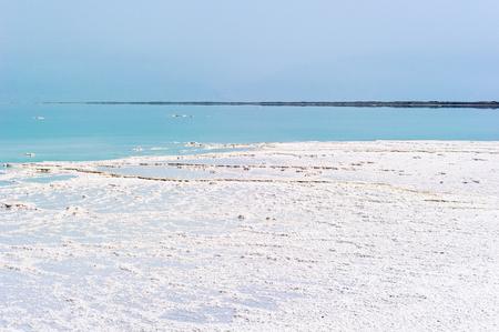 Dead sea coast in Israel