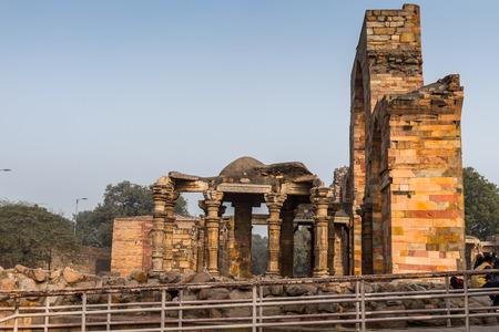 Qutb complex (Qutub), an array of monuments and buildings at Mehrauli in Delhi, India.