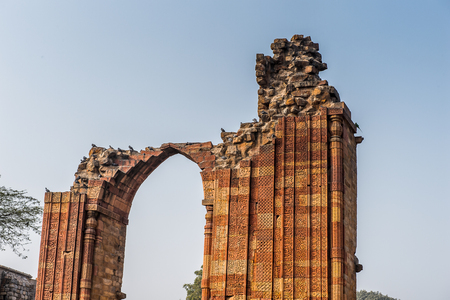 Qutb complex (Qutub),  an array of monuments and buildings at Mehrauli in Delhi, India. UNESCO World Heritage Site
