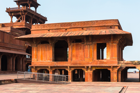 Mariam-uz-Zamani House at the Fatehpur Sikri, a city in the Agra District of Uttar Pradesh, India.