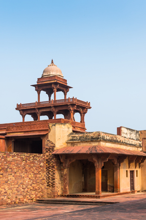 Fatehpur Sikri, a city in the Agra District of Uttar Pradesh, India. UNESCO World Heritage site. Stock Photo