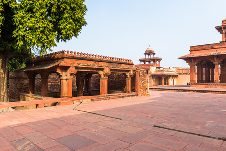 Fatehpur Sikri, a city in the Agra District of Uttar Pradesh, India. Stock Photo