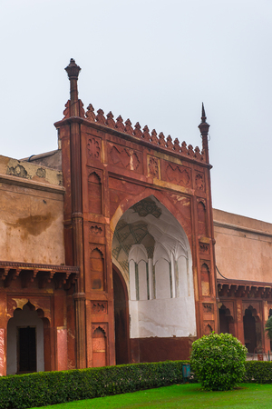Red Fort of Agra, India.