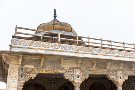 Diwan I Am (Hall of Public Audience) at the Red Fort of Agra, India.