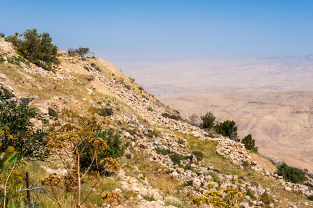 Mount Nebo, Jordan Stock Photo