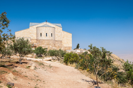 Monastery on the Mount Nebo