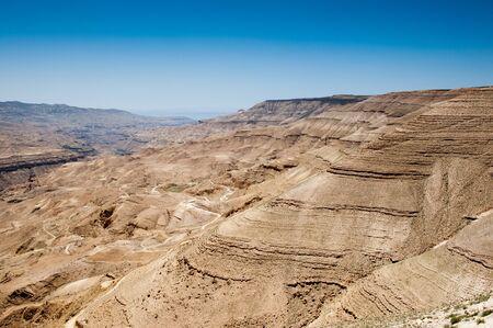 Nature of the desert of Jordan