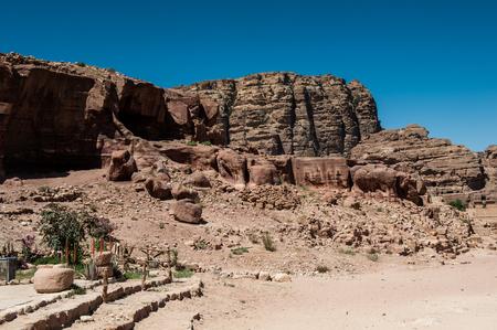 Rocks in Petra, Jordan