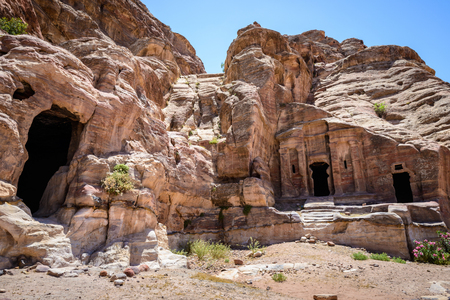 Petra, Jordan. Petra is one of the New Seven Wonders of the World.