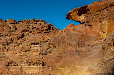 Beautiful rock in Petra