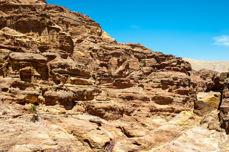 Mountains of Petra, Jordan Archivio Fotografico