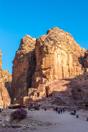 Mountains in Petra, Jordan