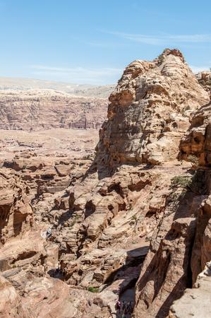 Beautiful Nature of Petra Standard-Bild