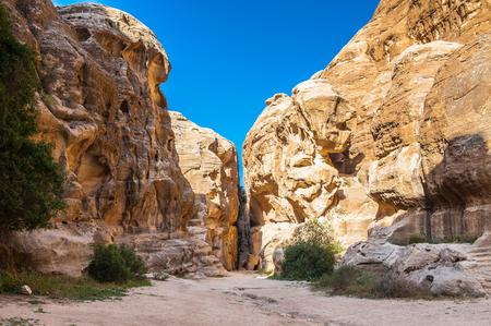 Cold Canyon, Siq al-Barid, Little Petra, Jordan