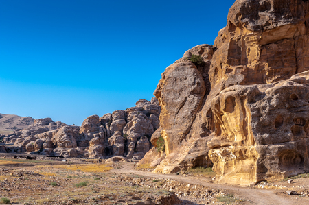 Rocks of Little Petra, Siq al-Barid (Cold Canyon, Jordan