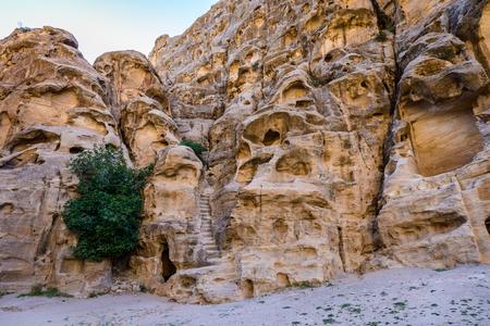 Mountains of the Cold Canyon, Siq al-Barid, Little Petra, Jordan