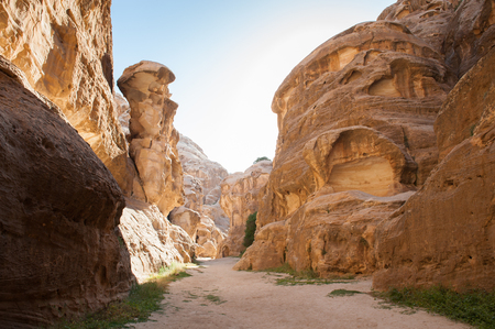 Cold Canyon, Siq al-Barid, Little Petra, Jordan