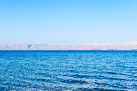 View of the Dead Sea and Israel on the other side