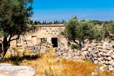 古代都市ガダラの遺跡、現代ヨルダン 写真素材 - 91977200