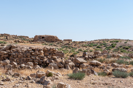 Umm ar-Rasas, ruins from the Roman, Byzantine, and Muslim civilizations.