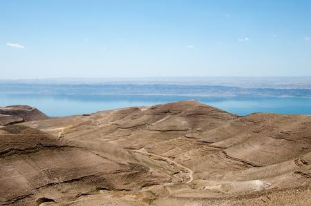 Beautiful nature landscape of Jordan Stok Fotoğraf