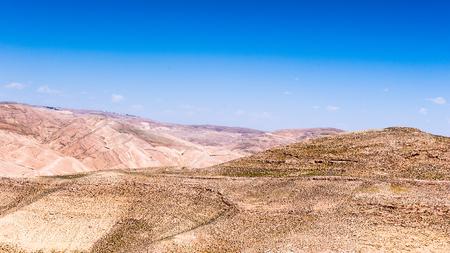 Beautiful landscape  of dunes in a desert