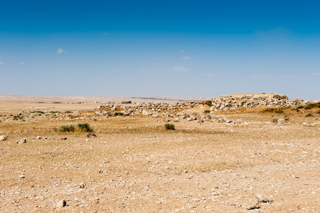 Umm ar-Rasas, ruins from the Roman, Byzantine, and Muslim civilizations.