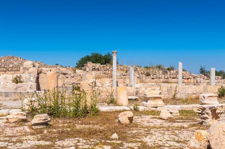 近代ヨルダンのガダラ遺跡 写真素材 - 92023709