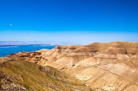 Dead sea and the hills of Jordan
