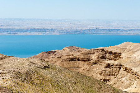 Dead sea and the hills of Jordan